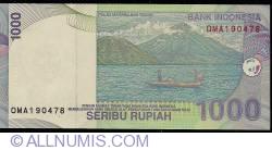 Image #2 of 1000 Rupiah 2000/2002