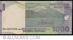 Image #2 of 1000 Rupiah 2009