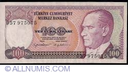 Image #1 of 100 Lira ND(1984)
