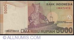 Image #2 of 5000 Rupiah 2009