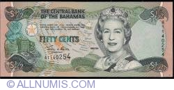 Image #1 of 50 Cents (1/2 Dollar) 2001
