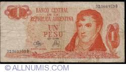 Imaginea #1 a 1 Peso ND (1970-1973) - semnături Rodolfo A. Mancini / Jorge Bermúdez Emparanza