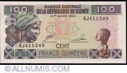 Image #1 of 100 Francs 1998