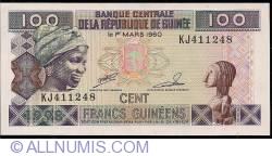 Image #1 of 100 Francs 1998