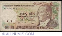 Image #1 of 5000 Lira L.1970 (1985) - 1
