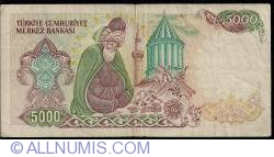 Image #2 of 5000 Lira L.1970 (1985) - 1