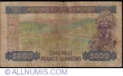 Image #2 of 5000 Francs 1985