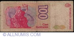 Image #2 of 100 Australes ND (1985-1990) - 1