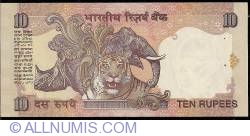 Image #2 of 10 Rupees ND (1996) L - signature C. Rangarajan (87)