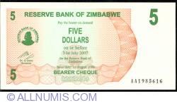 Imaginea #1 a 5 Dolari 2006 (1. VIII.)