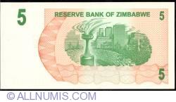 Imaginea #2 a 5 Dolari 2006 (1. VIII.)