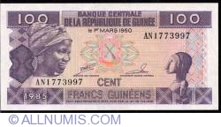Image #1 of 100 Francs 1985