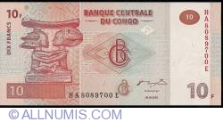 Image #1 of 10 Francs 2003 (30. VI.)