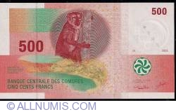 Image #1 of 500 Francs 2006 - signatures (1)