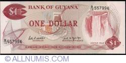 Image #1 of 1 Dollar ND (1989)