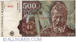 500 Lei 1991 (January)