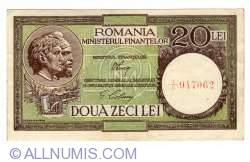 20 Lei ND (1948) - signatures V. Luca / G. Ciobanu