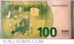 100 Euro 2019 - E (Oberthur Fiduciaire)