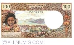Image #2 of 100 Francs ND(1971)