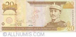 Imaginea #1 a 20 Pesos Oro 2000