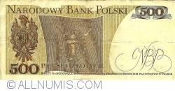 Image #2 of 500 Zlotych 1979 (1. VI.)