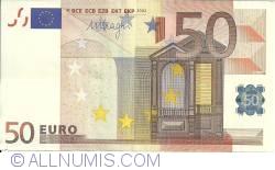 Imaginea #1 a 50 Euro 2002 X (Germania)