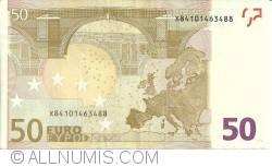 Imaginea #2 a 50 Euro 2002 X (Germania)