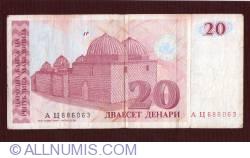 20 denari 1993