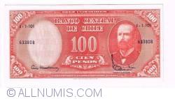 10 Centésimos de Escudo on 100 Pesos ND(1960-1961) (2)