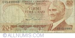 Image #1 of 20 Lira L.1970 (1974) - 1