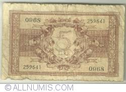 5 Lire 1944 (23. XI.)