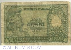 Image #1 of 50 Lire 1951 (31. XII.)