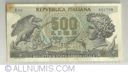 Image #1 of 500 Lire 1966 (20. VI.)