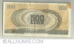 Image #2 of 500 Lire 1966 (20. VI.)