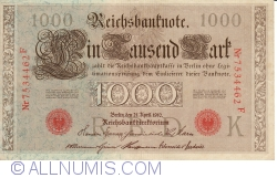 Image #1 of 1000 Mark 1910 (21. IV.) - K