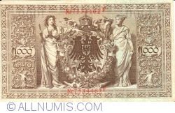 Image #2 of 1000 Mark 1910 (21. IV.) - K
