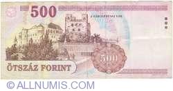 Imaginea #2 a 500 Forint 1998