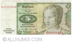Image #1 of 5 Deutsche Mark 1970 (2. I.)