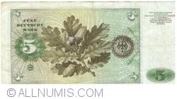 Image #2 of 5 Deutsche Mark 1970 (2. I.)
