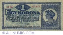 Imaginea #1 a 1 Coroană 1920