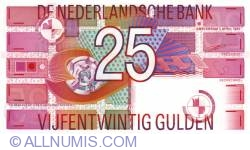 Imaginea #1 a 25 Gulden 1989 (5. IV.)