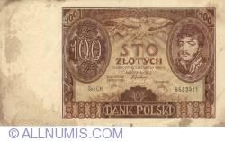 Image #1 of 100 Złotych 1934 (9. XI.) - 1