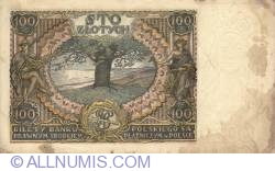 Imaginea #2 a 100 Złotych 1934 (9. XII) - 1