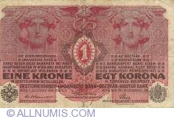 Image #2 of 1 Krone 1916 (1. XII.)