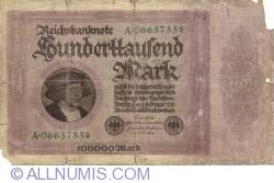 Image #1 of 100 000 Mark 1923 (1. II.) - 1