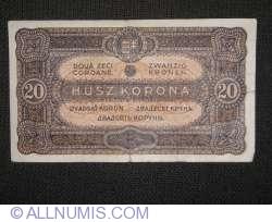 Imaginea #1 a 20 Coroane 1920 (1. I.)