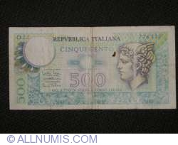 Image #1 of 500 Lire 1976