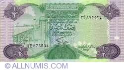 Imaginea #2 a 1/2 Dinar ND(1984)