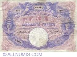 Image #1 of 50 Francs 1912 (26. XI.)