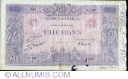 Image #1 of 1000 Francs 1922 (29. V.)
